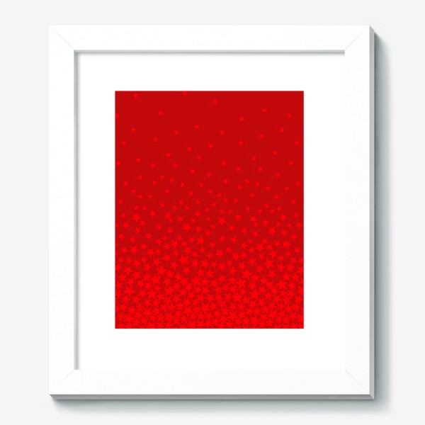 Картина «красные звезды»