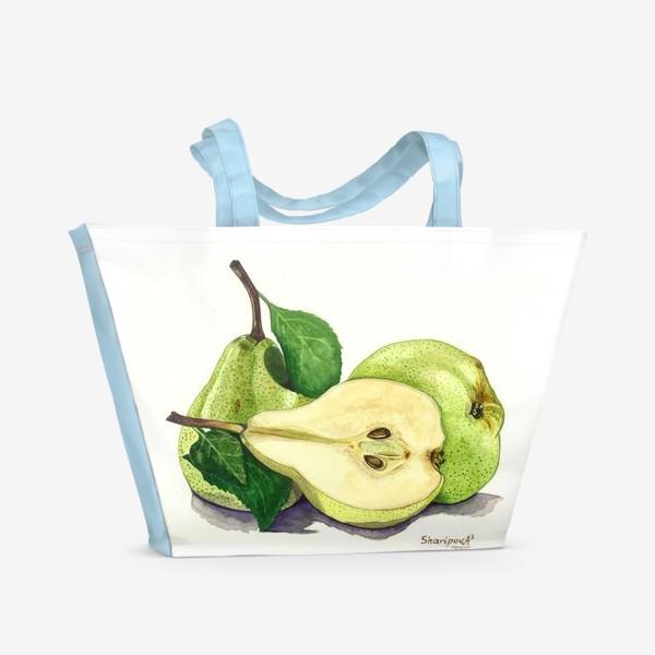 Пляжная сумка «Груши»