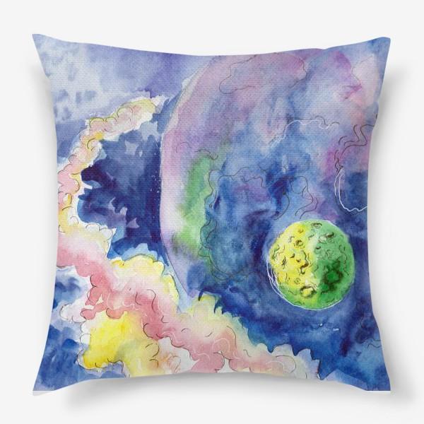 Подушка «Где-то на просторах Вселенной»