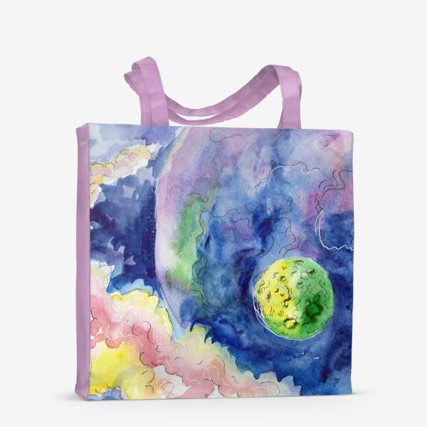 Сумка-шоппер «Где-то на просторах Вселенной»