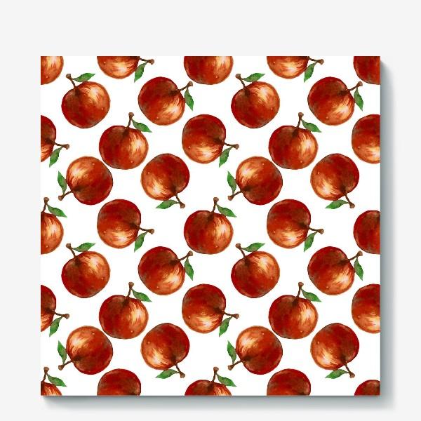 Холст «Сочные яблоки»