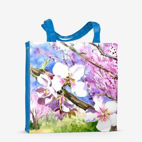 Сумка-шоппер «Цветущая вишня»