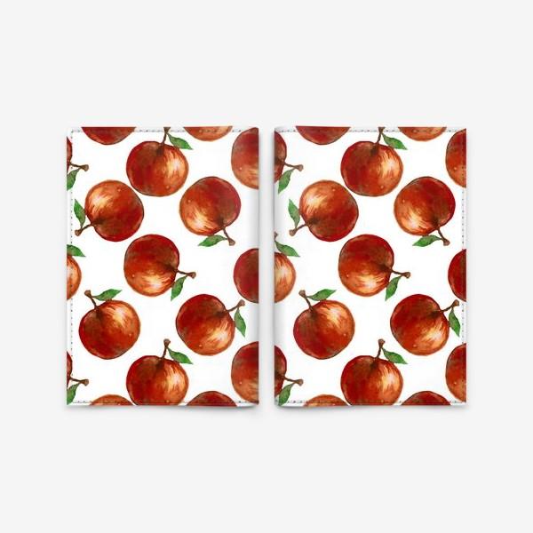 Обложка для паспорта «Сочные яблоки»