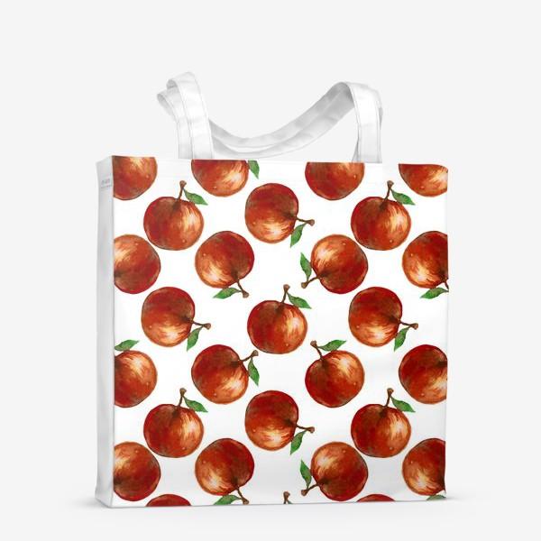 Сумка-шоппер «Сочные яблоки»