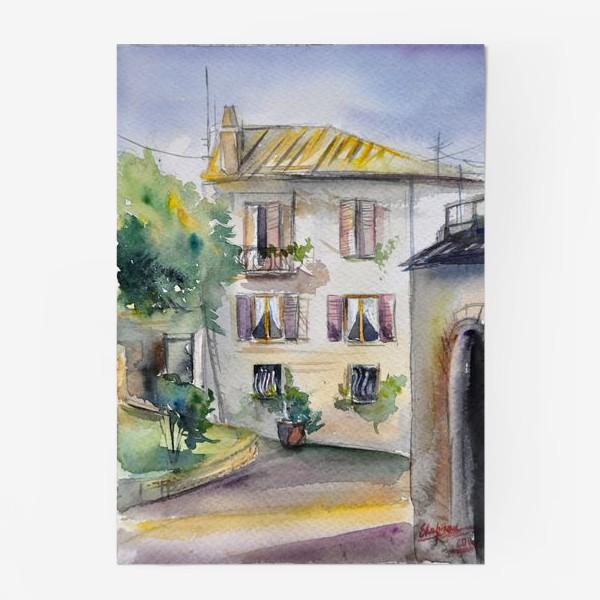 Постер «Солнечный дворик»