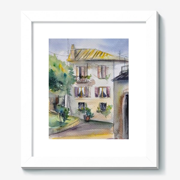Картина «Солнечный дворик»
