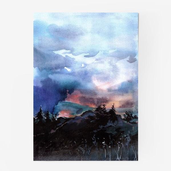 Постер «На закате»
