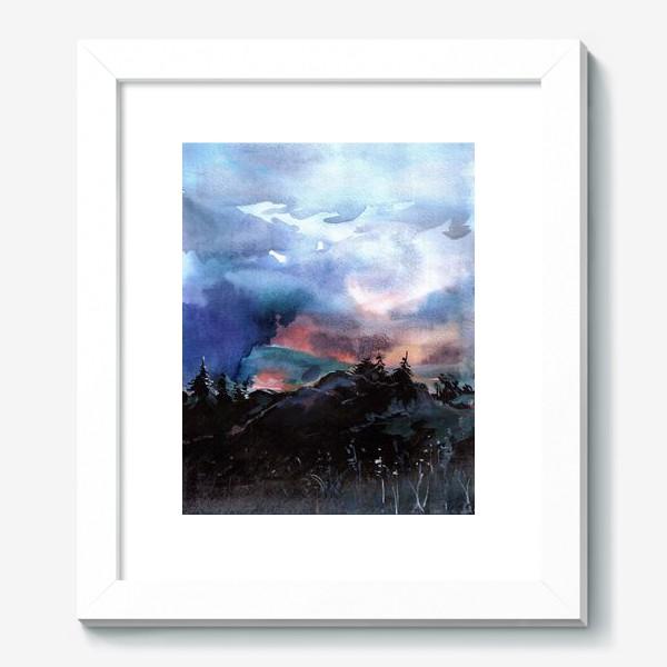 Картина «На закате»