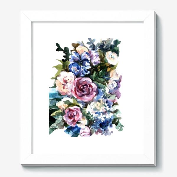 Картина «Голубой букет»