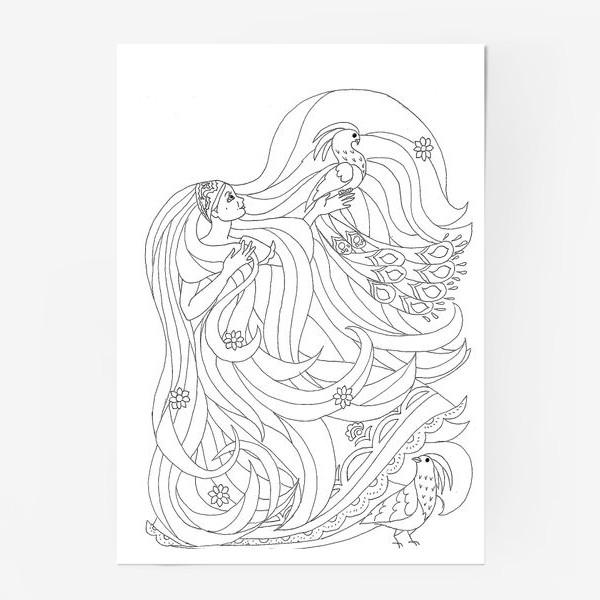 Постер «Рапунцель»