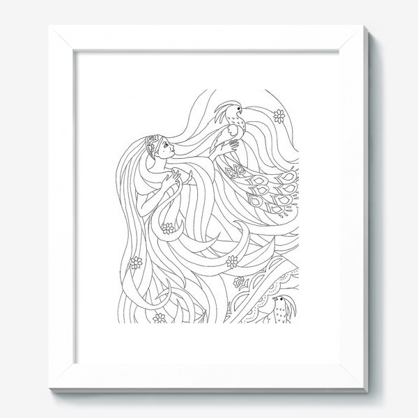 Картина «Рапунцель»