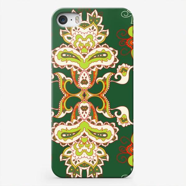 Чехол iPhone «Индийский бохо узор»