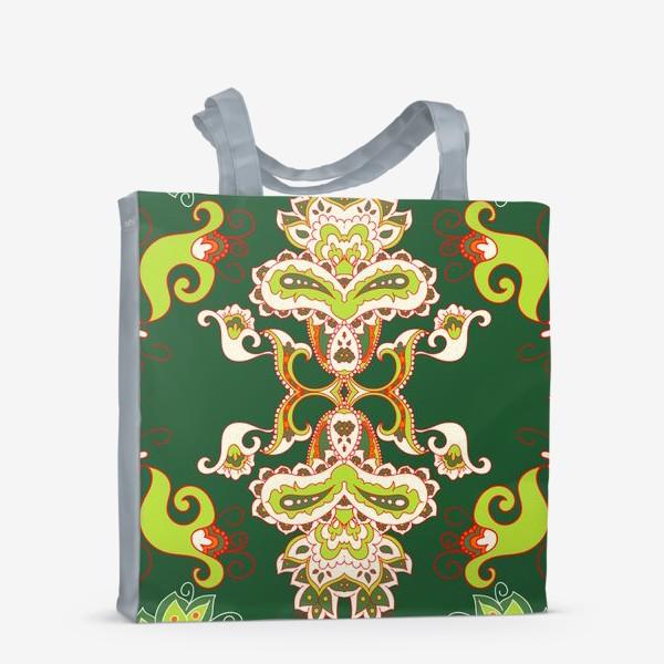 Сумка-шоппер «Индийский бохо узор»