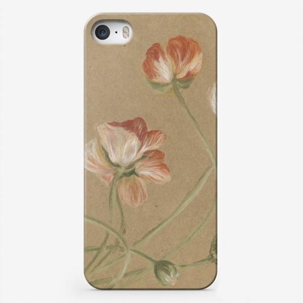 Чехол iPhone «Свежие цветы»