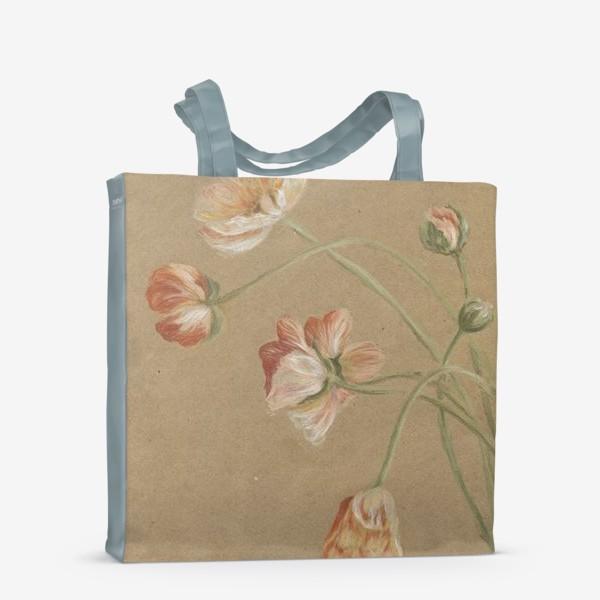 Сумка-шоппер «Свежие цветы»