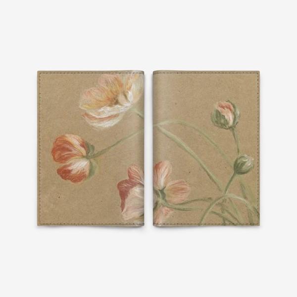 Обложка для паспорта «Свежие цветы»