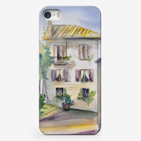 Чехол iPhone «Солнечный дворик»