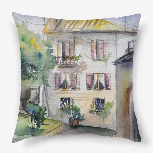 Подушка «Солнечный дворик»