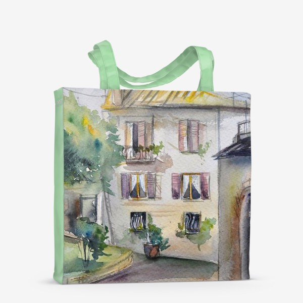 Сумка-шоппер «Солнечный дворик»