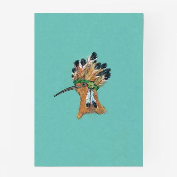 Постер «индеец »