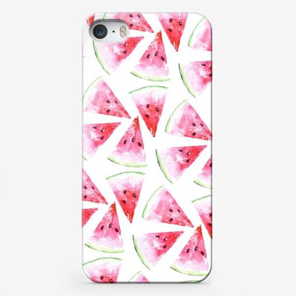 Чехол iPhone «Еще арбузиков !»