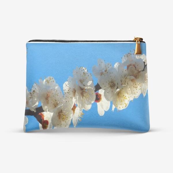 Косметичка «Цветущая сакура весной»