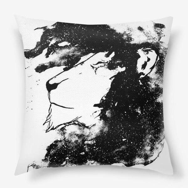 Подушка «Левушка чб»