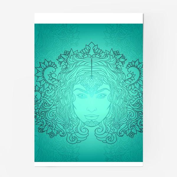 Постер «Лазурное свечение»