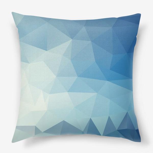 Подушка «треугольники»
