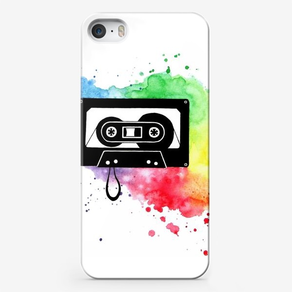 Чехол iPhone «Аудиокассета»