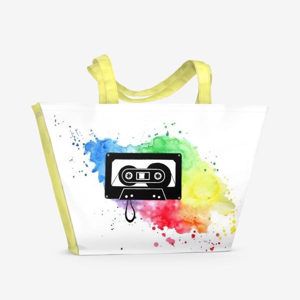 Пляжная сумка «Аудиокассета»