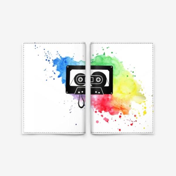 Обложка для паспорта «Аудиокассета»