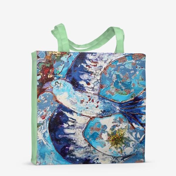 Сумка-шоппер «Синяя птица счастья»