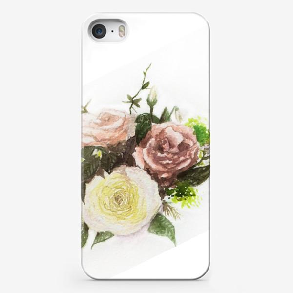 Чехол iPhone «Букет летний»