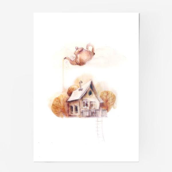 Постер «Кофейный домик»