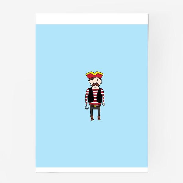 Постер «Пират с крюком»