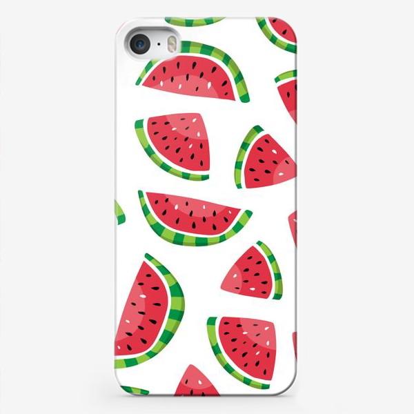 Чехол iPhone «Сочные арбузики»