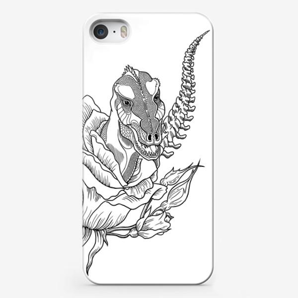Чехол iPhone «Тиранозавр»