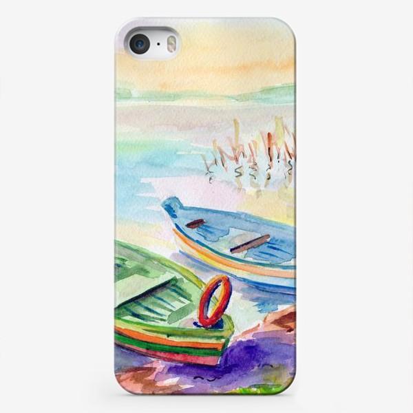 Чехол iPhone «Лодки. Тракай (Литва).»