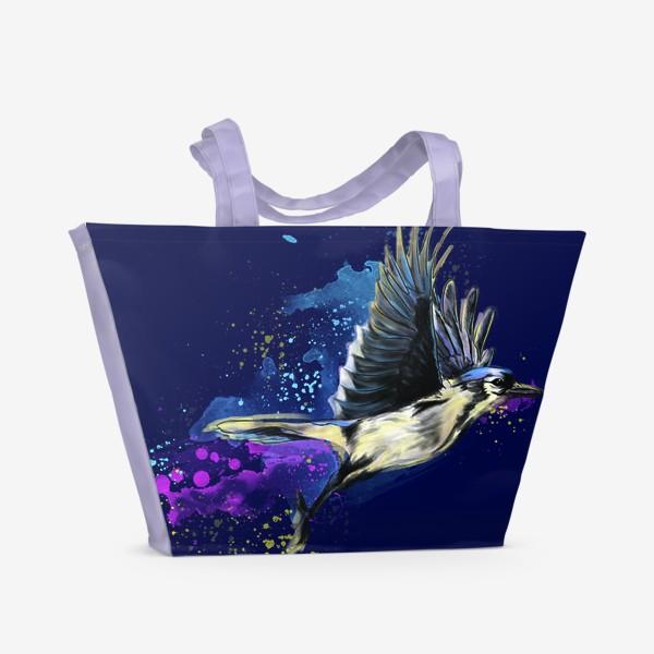 Пляжная сумка «В полете»