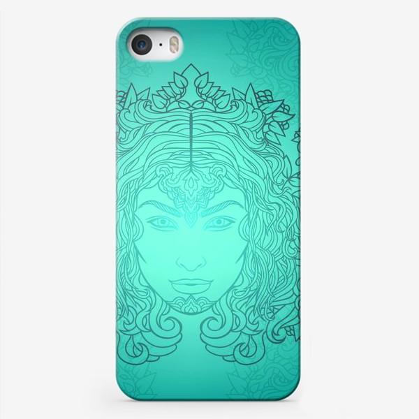 Чехол iPhone «Лазурное свечение»