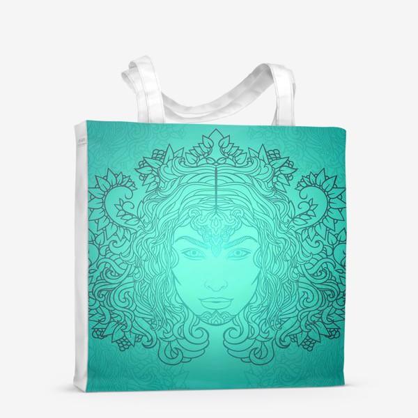 Сумка-шоппер «Лазурное свечение»