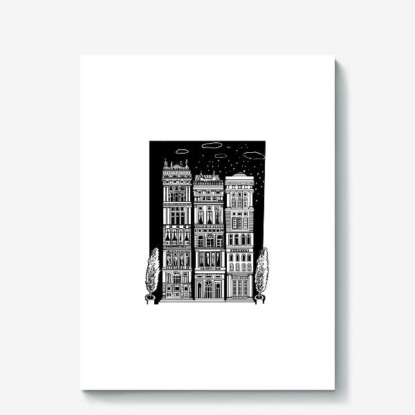 Холст «Дом»