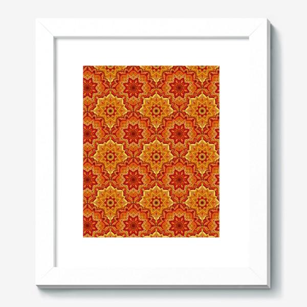 Картина «Восточный цветочный узор»