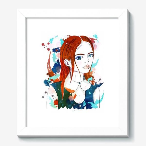 Картина «Рыжеволосая девушка»