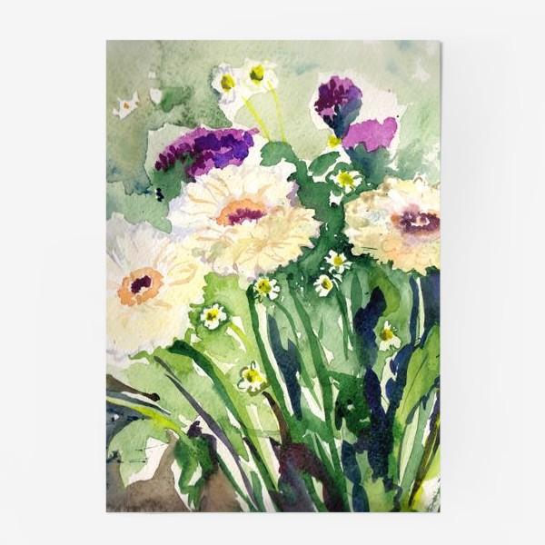 Постер «Букет цветов / Bunch of flowers»