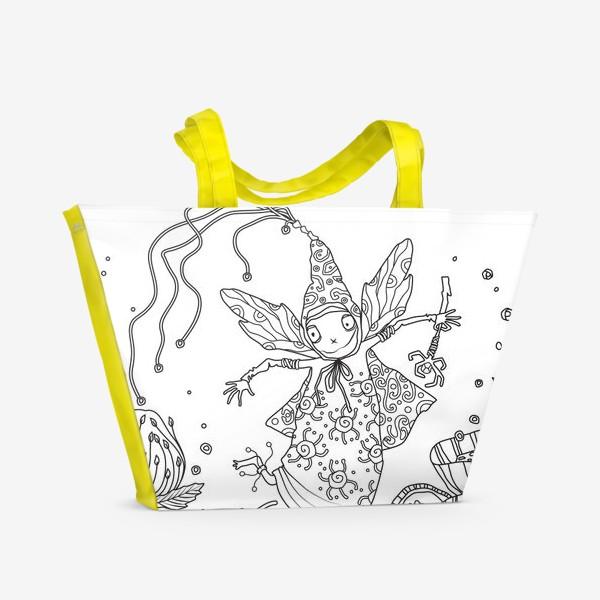 Пляжная сумка «фейка»