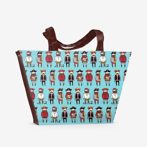 Пляжная сумка «Пираты»