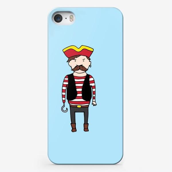 Чехол iPhone «Пират с крюком»