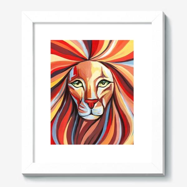 Картина «Радужный Лев»